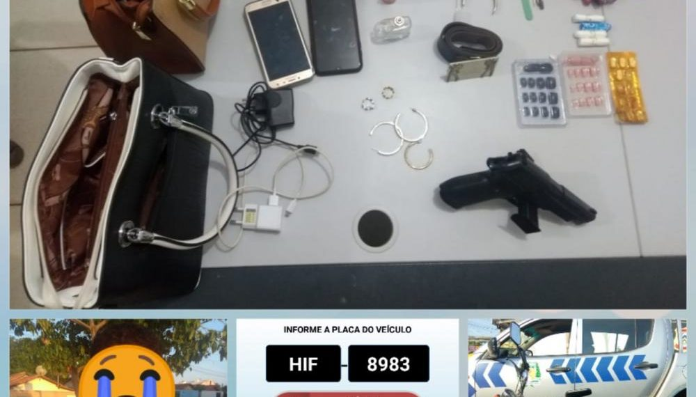 Adolescente suspeito de roubar motocicleta e outros objetos é apreendido pela PM na região sul de Palmas