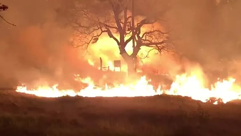 Brasil em chamas