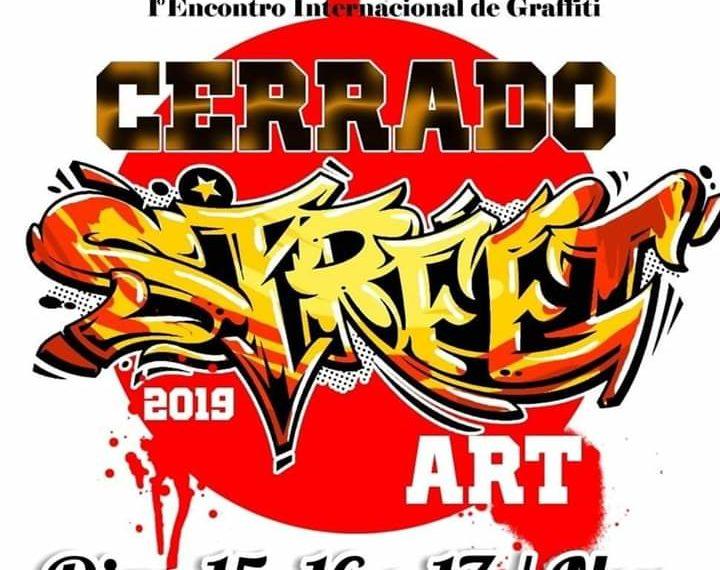 Cerrado Street Art; Palmas sedia encontro Internacional de Graffiti do Estado do Tocantins