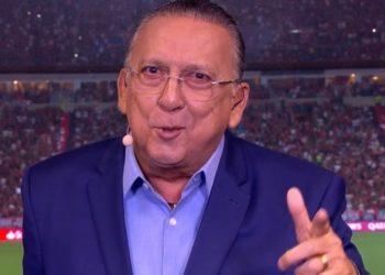 Galvão Bueno sofre mal estar em Lima onde narraria final da Libertadores; veja
