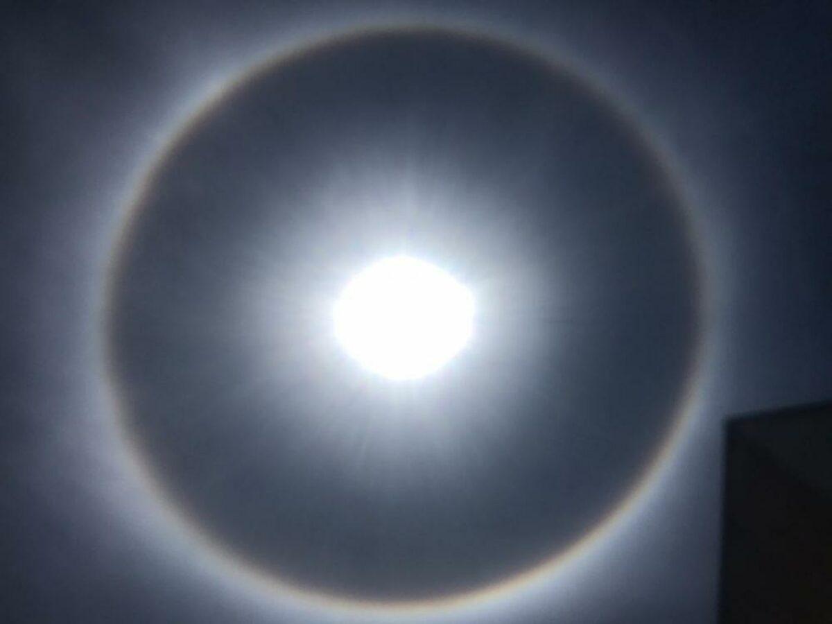 Halo Solar Aparece No Ceu E Encanta Moradores De Palmas Veja Fotos Sou De Palmas