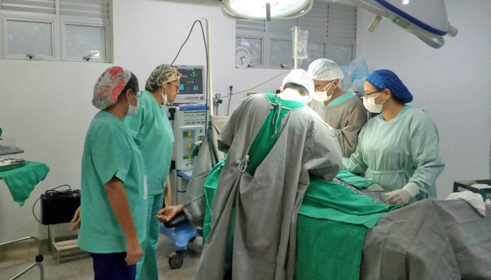 Hospitais do Estado já realizaram quase cinco mil cirurgias eletivas este ano