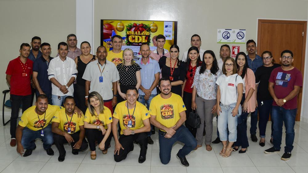 Natalzão da CDL vem por aí! Lojistas de Taquaralto se reúnem para apresentação da campanha 2019