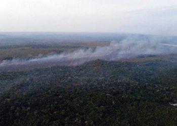 Prefeito acusa grileiros e policiais de causar incêndios em Santarém no Pará.