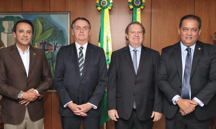 Presidente Bolsonaro participa de lançamento de programa de desenvolvimento do governo estadual