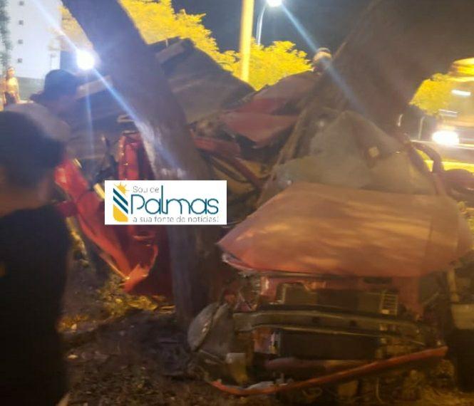 Tragédia: Grave acidente de trânsito mata duas pessoas na Teotônio Segurado em Palmas