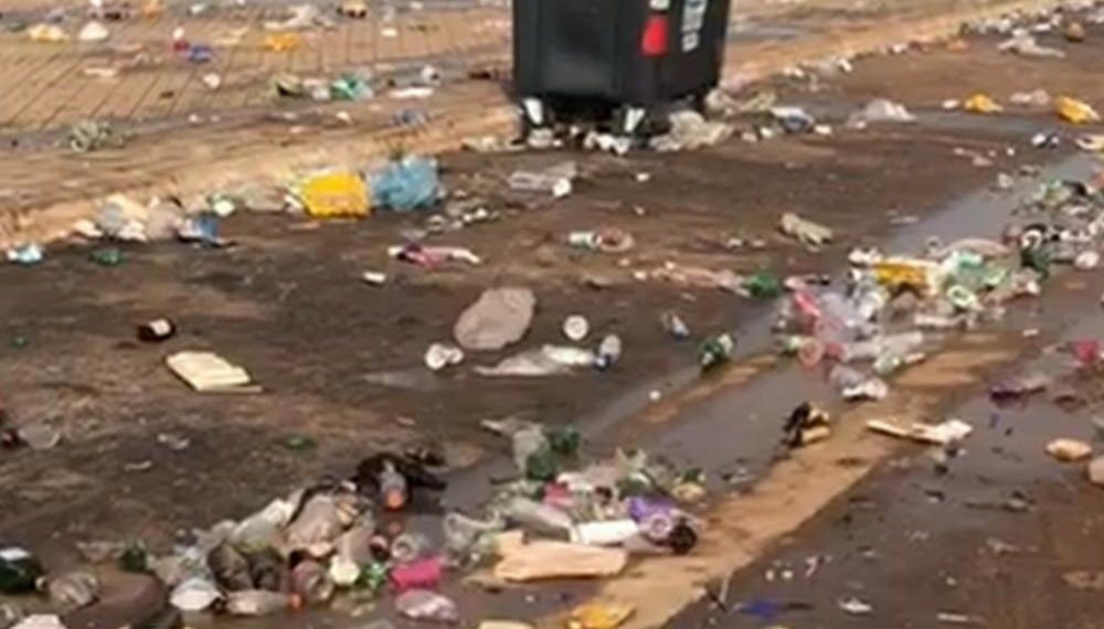 Vídeo   Morador filma a Via Lago em Araguaína tomada por lixo após aniversário da cidade comemorado nesta quinta feira